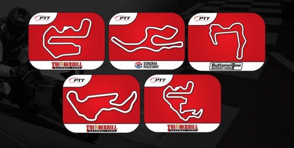 2020 Pacific Track Time 5-Pack Track Pass Multi-Track Graphic