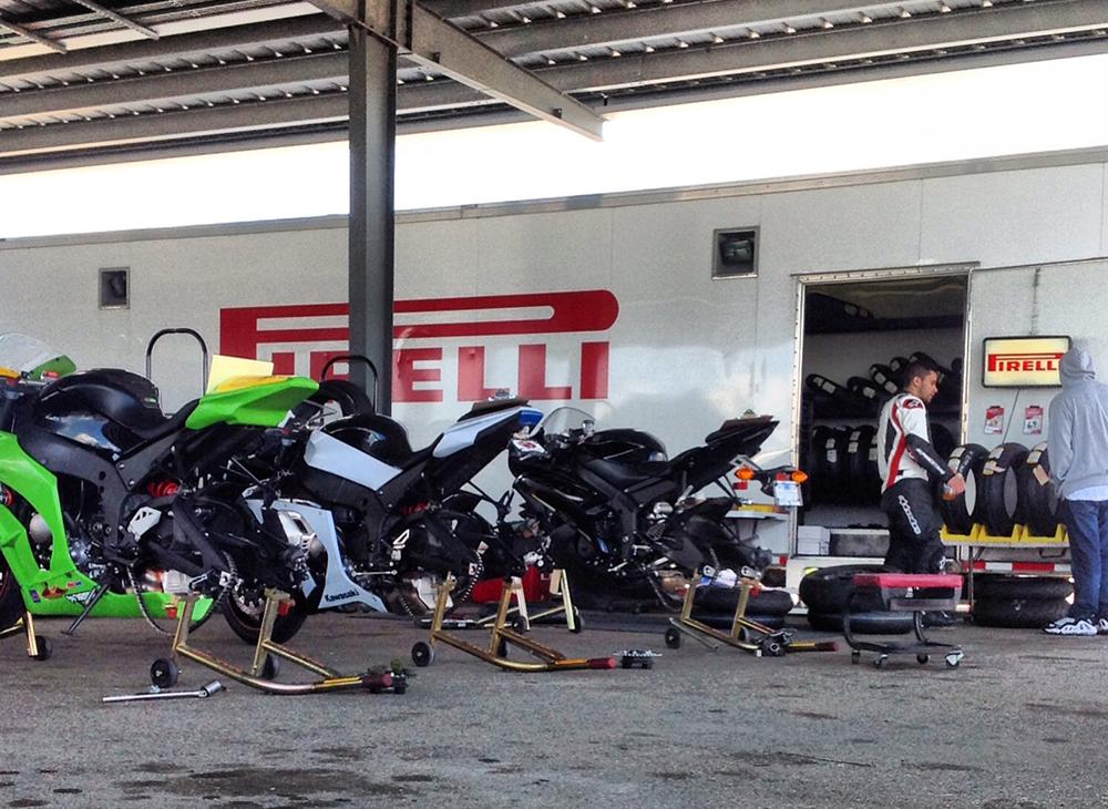 Pacific Track Time - Pirelli Bikes