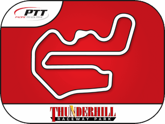 Pacific Track Time - Thunderhill East Track Day Button Map